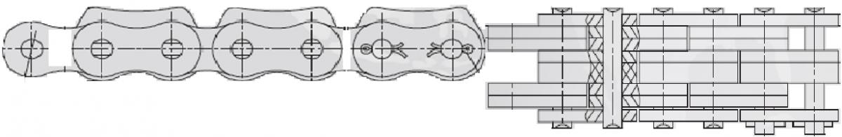 Catene fleyer con inserti in plastica (tipo linde)  Catenificio Torinese s.n.c.
